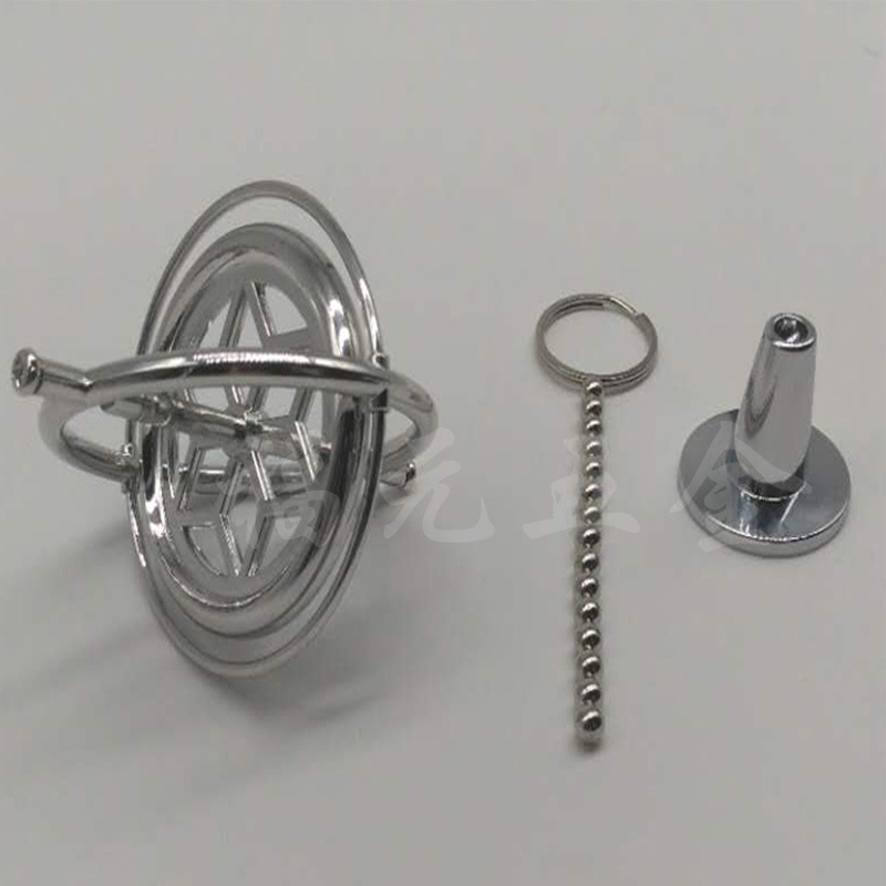 Metal máquinas giroscópio anti-gravidade tumbler giroscópio giratório giratório de cobre dedo giroscópio espiral desktop brinquedo anti estresse