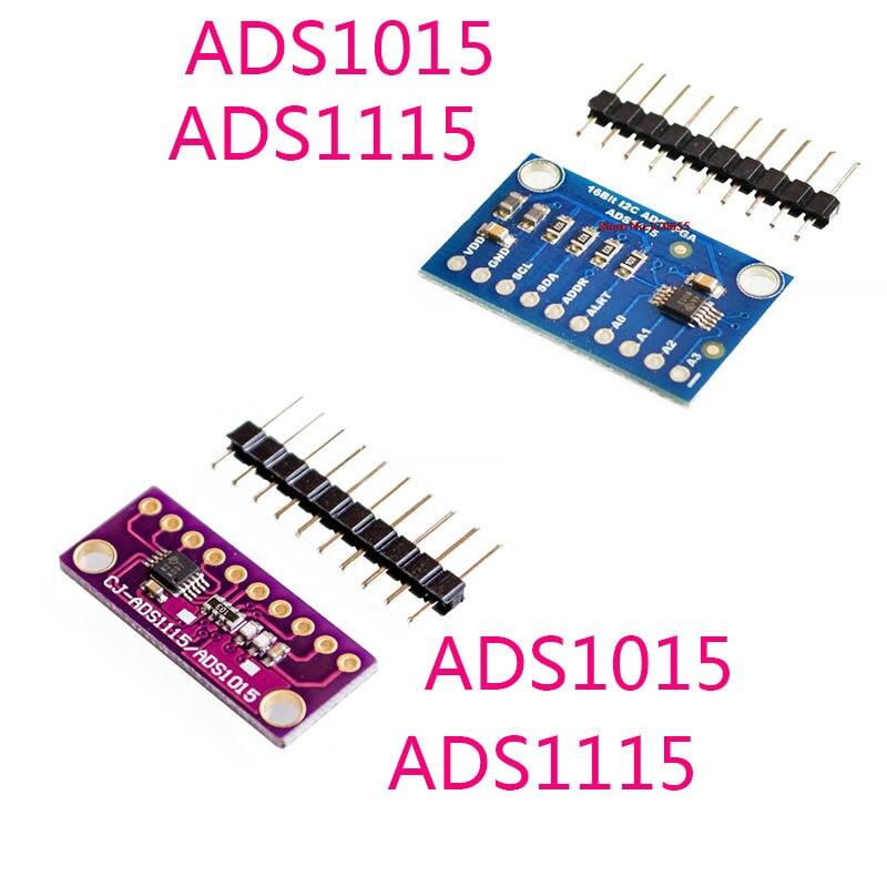 ADS1015 4Channel 12-Bit I2C ADC Module Avec Pro Gain Ampli pour Arduino Rpi
