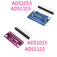 16 Bit I2C ADS1115 ADS1015 Module ADC 4 channel with Pro Gain Amplifier RPi