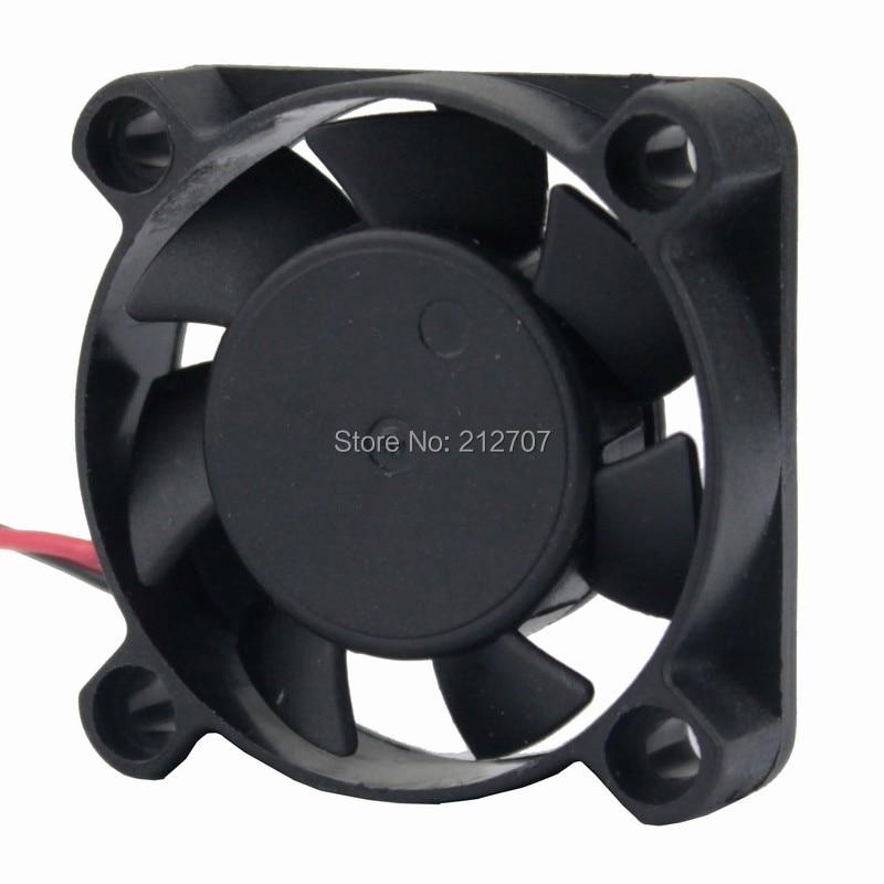 10 шт. Gdstime 7 лопастей DC радиатор вентилятор охлаждения 5 в 2P 4 см 40 мм 40x40x10 мм 4010