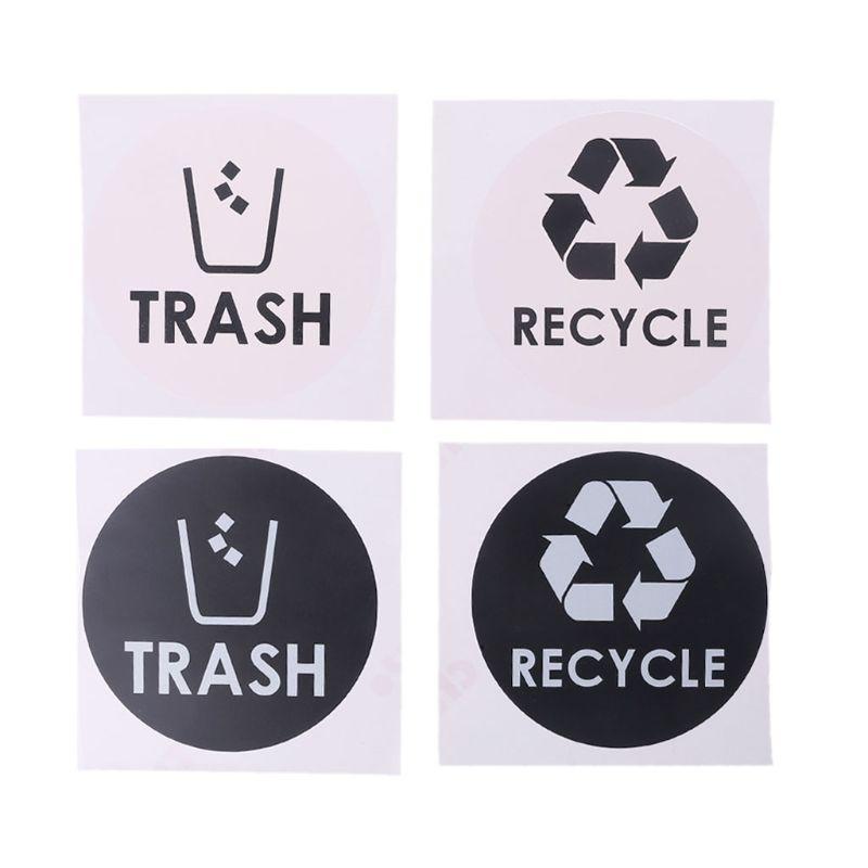 No Trash International Symbol Vinyl Decal Sticker Car Window Wall