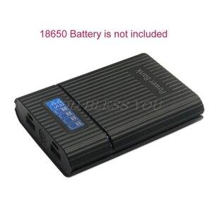 Image 1 - アンチリバース diy 電源銀行ボックス 4 × 18650 バッテリー lcd ディスプレイ充電器 iphone diy 発電所ケーススマートフォン用