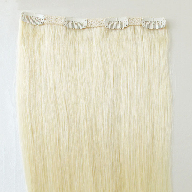 New Arrival European Clip In On Remy Human Hair Extensions Thickest