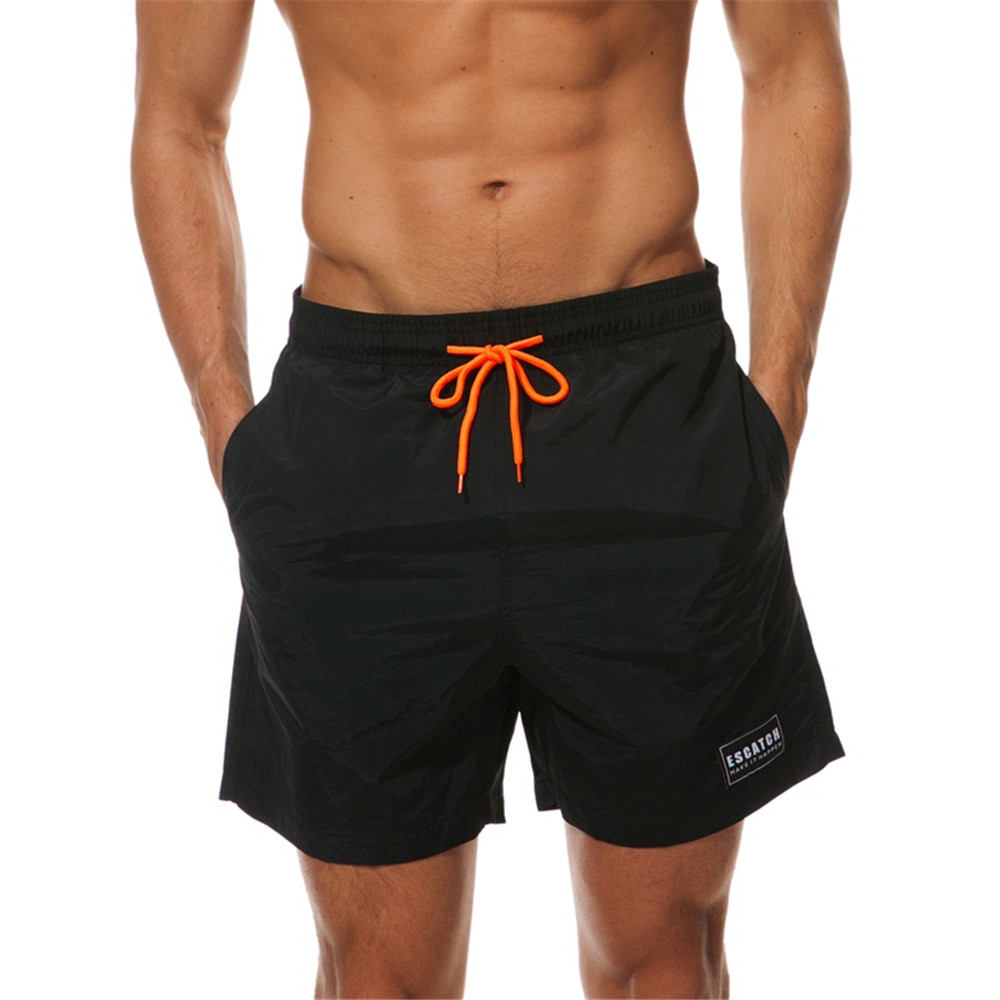 2018 New Fashion Summer Shorts Men Breathable Casual Shorts Mens Bermuda Quick Drying Elastic Waist Beach Shorts Male Big Size
