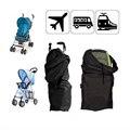 O envio gratuito de 2 pçs/lote de ar do carro Stroller Pram do bebê saco de Buggy viagem Case capa preto Stroller acessórios BTRQ0146