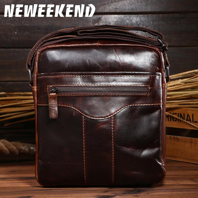 0066,Guaranteed genuine leather Men's Briefcase men messenger bags Business travel bag man leather vintage men shoulder bag цены