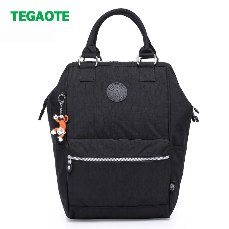 TEGAOTE Fashion Women Backpack High Quality Youth Nylon School Backpacks For Teenage Girls Female Travel Laptop Bagpack Mochila