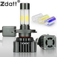 Zdatt Car Light H4 H7 LED H8 H11 HB3 9005 HB4 9006 H1 100W 12000lm 12V