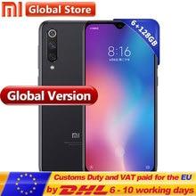 Küresel Sürüm Xiao mi mi 9 SE 6 GB 128 GB cep TELEFONU mi 9 SE Snapdragon 712 Octa Çekirdek 5.97