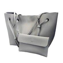 DAUNAVIA brand 2017 new casual female tote composite handbag font b ladies b font pack hotsale