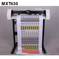 MXT430 38cm Width Camera Automatic Positioning Edge Patrol 3M Reflective Film Cutting Plotter Machine Sticker Label Plotter