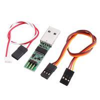 USB Adapter HS 3P naar 4P Servo Kabel voor Kyosho Mini Z RC Onderdelen Zender Upgrade Mini  z ICS Instellingen-in Stekkers en snoeren van Consumentenelektronica op