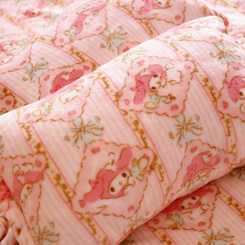 X-DMDiamond stripe Melody cute cartoon blanket, pillow, <font><b>air</b></font> conditioning, blankets, mattresses, bed sheets, children