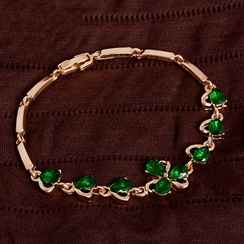 Bracelets Girls Graduation Gift Shamrock