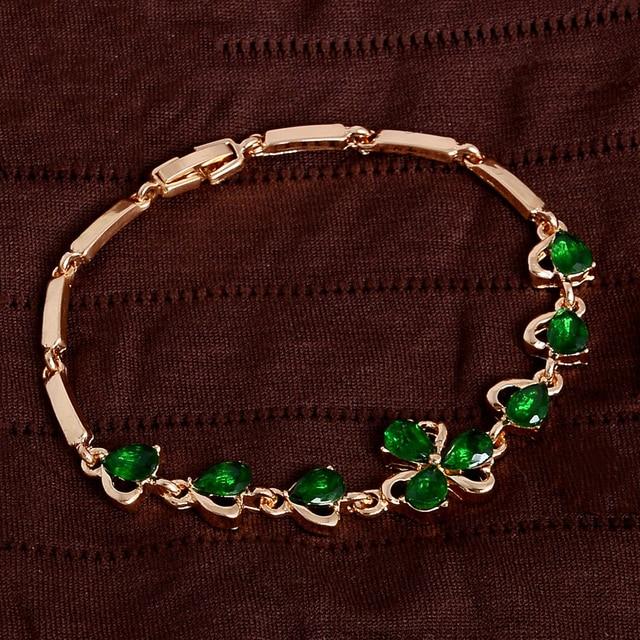 Bracelets Girls Graduation Gift Shamrock
