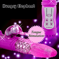 Vibrator Passion Jack Rabbit Vibrators 12 Speed G Spot Vibration&Rotation  Waterproof  Vibration Massager Adult Sex Toys for wom