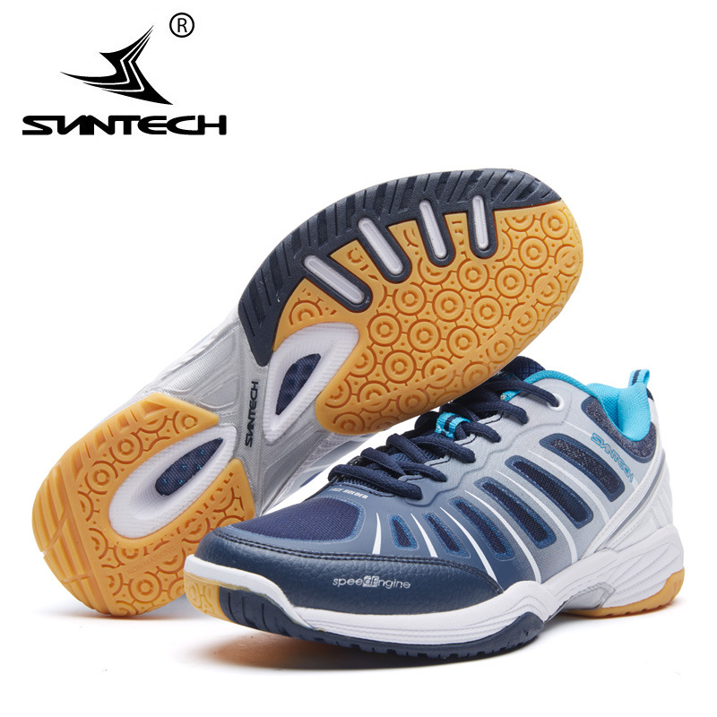 Suntech New Arrival Breathable Badminton Shoes For Men And Women Anti-Slippery Outdoor Sport Shoes