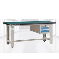 QG GZT003 Heavy Workshop Benchwork Table Workbench Antistatic Operating Platform Stainless Steel Test Maintenance Workbench