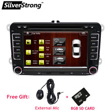 SilverStrong In Stock Factory Fit RNS510 Car DVD for Volkswagen Passat Polo Jetta Car DVD Golf Radio for Volkswagen 65D