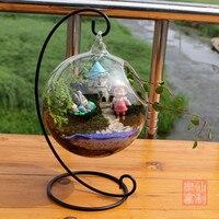 Manufacturers Selling The Bottle Hanging Rack Landscape Glass Vase Glass Crafts