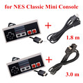 IVYUEEN para NES Classic Mini sistema de entretenimiento controlador de consola Gamepad con 3,0 M/1,8 m Cable de extensión de 10 pies