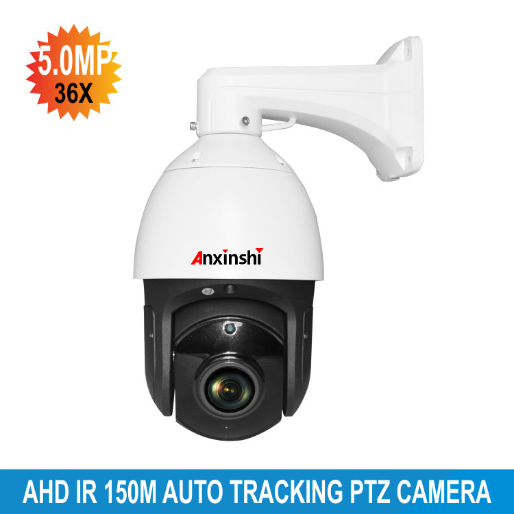 Full HD Auto tracking 5.0MP 36X zoom PTZ Camera HD AHD IR 150M LED DWDR High Speed Dome Camera auto tracking ptz camera 7 inch ir speed dome camera ccd 700tvl 36x optical zoom ir 150m osd menu outdoor ptz camera