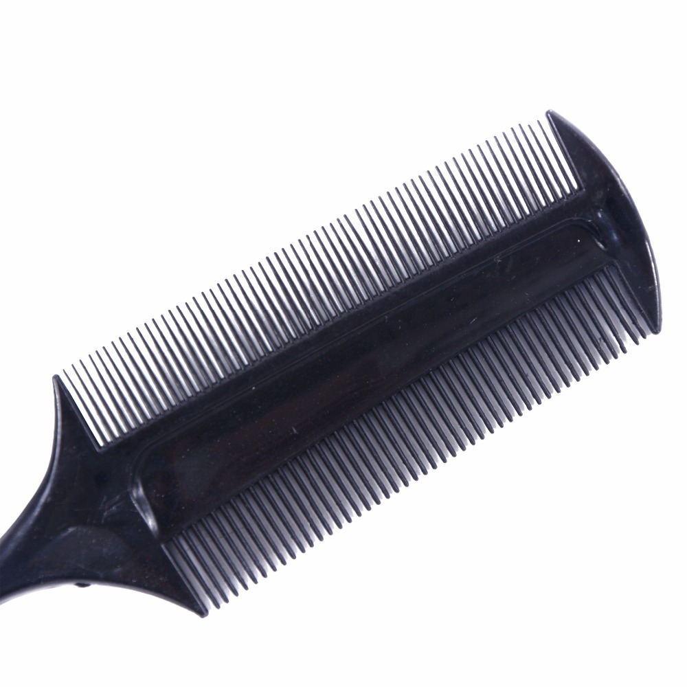 Image 3 - Professional Hairdressing Double Side Dye Comb with Nylon Hair Drying Brush Tinting Combs Hair Color Brush Hair Styling Tools-in Combs from Beauty & Health
