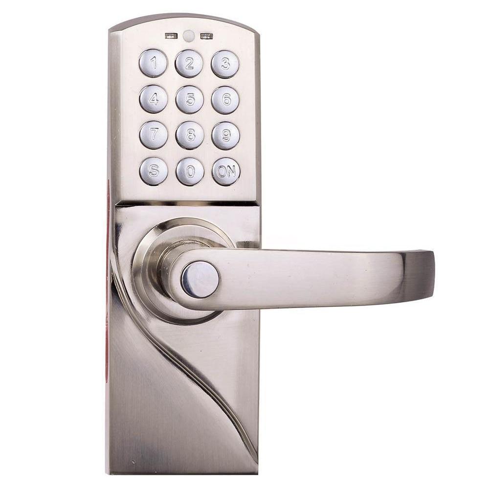 Handle Digital Electronic/Code Keyless Keypad Security Door Lock ...