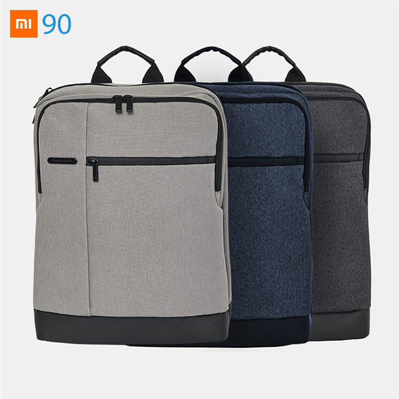 Xiaomi Mijia Youpin 90S Classic Business Backpack Travel Waterproof Leisure Backpack 400 300 140mm