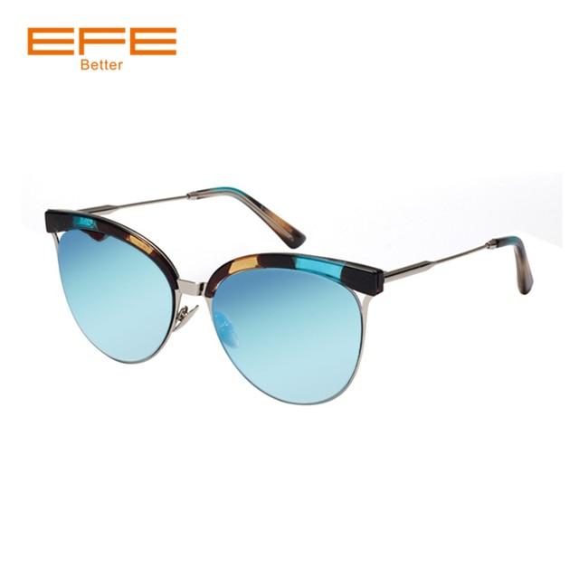 EFE New Fashion Semi Rimless Sunglasses Women Brand Designer Half Frame Sun Glasses Classic Female Oculos De Sol UV400 Shades