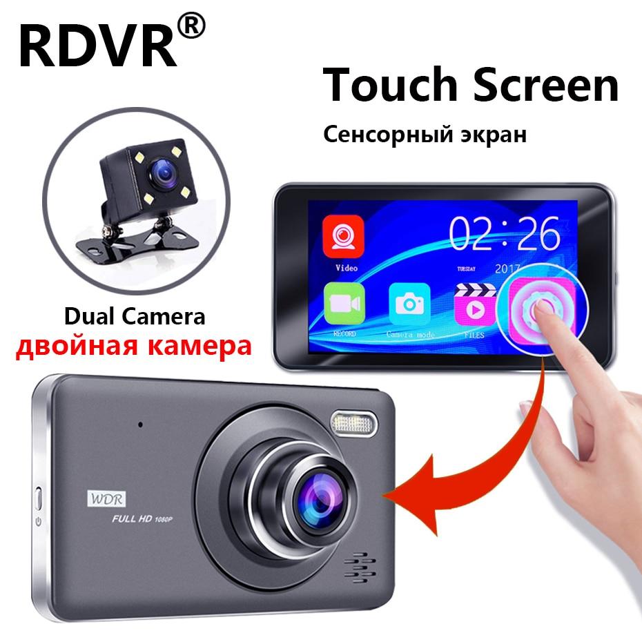2019 New 4 Dual Lens dash cam Recorder FHD 1080P car dvr Touch Screen IPS Video registrator Parking Monitor with Rear Camera2019 New 4 Dual Lens dash cam Recorder FHD 1080P car dvr Touch Screen IPS Video registrator Parking Monitor with Rear Camera