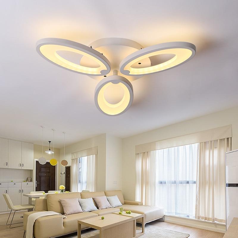 Железный акриловый цветочный современный светильник для коридора, прихожей, лестницы, балкона, маленький светодиодный потолочный светильн...