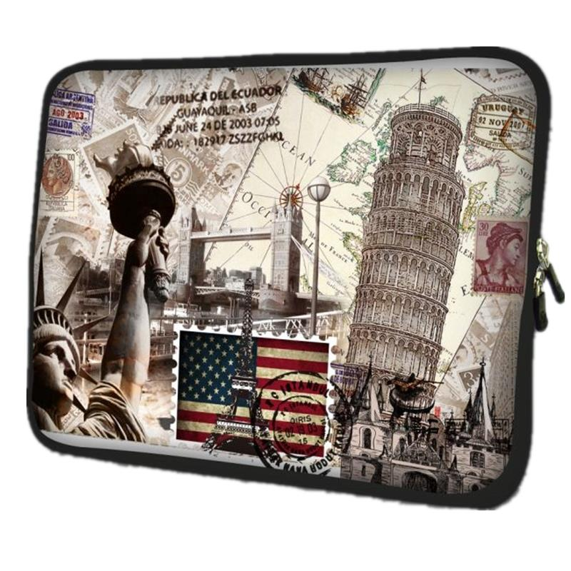 Castle Neoprene Laptop Bag For Notebook Netbook Sleeve Cases Tablet Pouch For 10.1 11.6 13.3 14 15.6 17 inch Computer Briefcase
