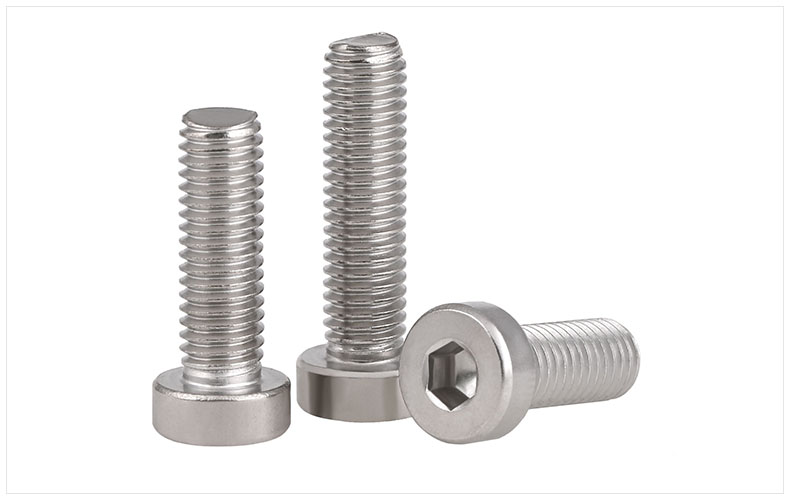 DIN7984 304 stainless steel Bolts thin head Hex socket screw M3 M4 M5 M6 M8 M10 Screws short head six angle bolt