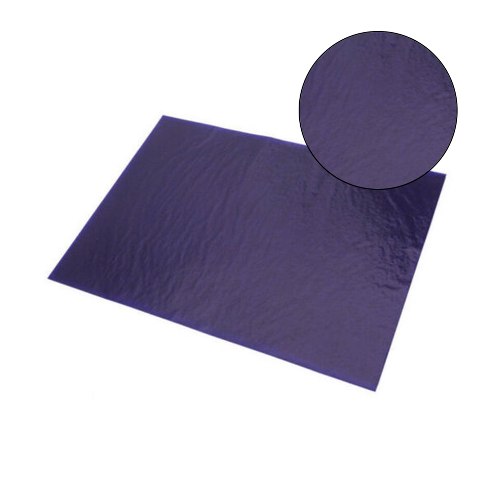 100 Sheets A4 Dark Blue Carbon Paper Hand Stencil Transfer Paper Painting Tracing Paper Graphite Painting Reusable