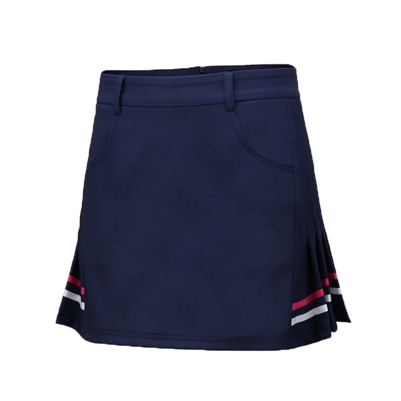 Pgm Women Summer Breathable Golf Skirt Shorts Ladies Slim Comfortable Skirts Female Sportwear Slim Leisure Tennis Skirt AA60478 dabuwawa autumn winter new high waist plaid elegant skirt knee length slim fit formal skirt ladies pencil skirts d16csk003