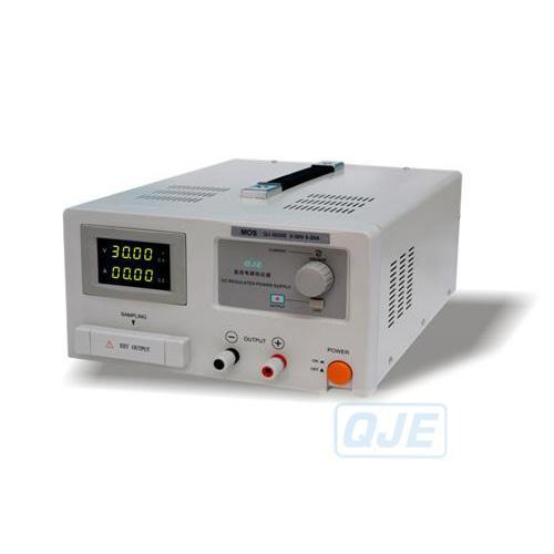 Fast arrival adjustable DC power supply QJ3020E Single channel 0 ~30V 0 ~ 20A resolution of 10mV 10mA rps3020d 2 digital dc power adjustable power 30v 20a power supply linear power notebook maintenance