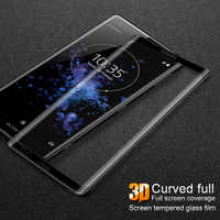 Imak 3D Curved Tempered Glass For Sony Xperia XZ3 Full Coverage Cover Screen Protector for Sony Xperia XZ3 Glass Screen Film