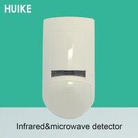 1 pces corvo srdt15 uso interno infravermelho e microondas passiva pir detector de movimento do assaltante sistema de alarme sensor infravermelho