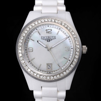 new women's fashion watch ceramic clock Phyboth PB1426/1472 Japanese quartz movement wrist watch free shipping