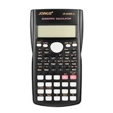 JOINUS öğrenci hesap makinesi bilimsel hesap makinesi gelişmiş matematik fonksiyonu hesap makinesi çok fonksiyonlu 12 Bit hesap makinesi ile kapak