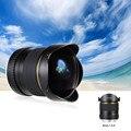 Kelda 8mm f/3.5 170 grados Cámara Circular Lente Asférica Ultra amplia Lente Ojo de Pez para Canon EOS DSLR Cámaras de Fotograma Completo Compatible