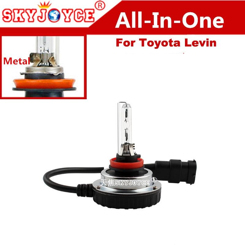 Car Light source All in One HID kit 9012 HID Ballast projector Lens hir2 xenon bulb 4300K 6000K 5000K 9012 levin led headlight