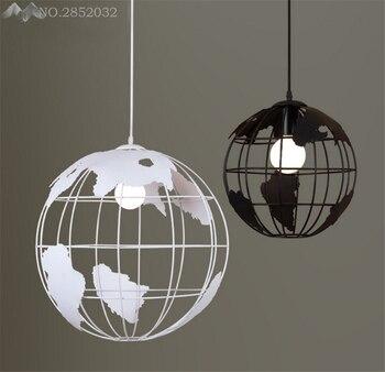 Creative   wrought iron decorative chandelier, globe shape ball line  hangingdroplight