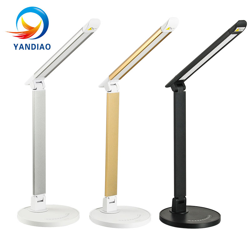 YANDIAO Novelty LED Table Lamp Eye Protection USB Chageaable LED Desk Lamp Touch Switch Reading Light Light Non polar Dimming