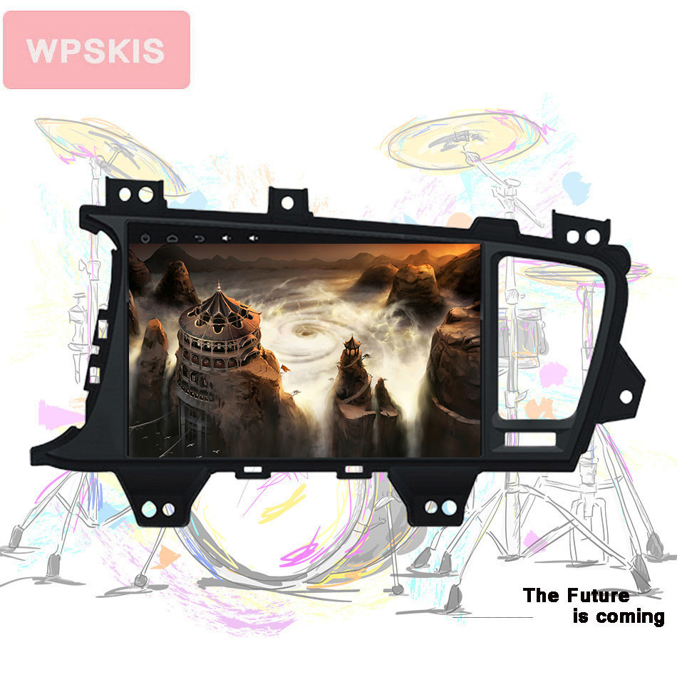 Android 9.0 Car DVD Player GPS Navigation Multimedia For Kia K5 Optima 2011 2013 12-15 Navi RDS Radio Audio Video Stereo System