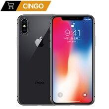 Apple iphone X Face ID 64 Гб/256 Гб ПЗУ 3 ГБ ОЗУ 12 МП шестиядерный iOS A11 5,8 дюймов двойная задняя камера 4G LTE разблокировка iphone x