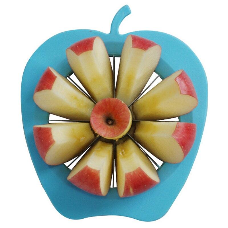 Multifunction Kitchen Gadgets Stainless Steel Apple Pear Slicer Vegetable Fruit Cutter Shredders Slicers Apple Device