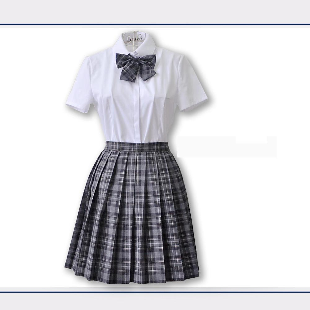 Japanese Sailor Suit School Uniform Sets Jk School Uniforms Girls White Shirt And Pleated Skirt Suits Student Sexy Navy Cosplay