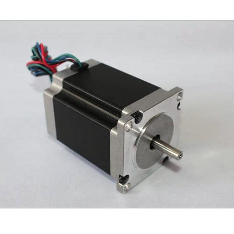 1pc Nema23 Stepper Motor 57HS76-3004 57*76mm 1.9N.m 3A Nema 23 motor 270 Oz-in for 3D printer for CNC engraving milling machine 57 stepper motor 76mm 3a 1 8nm 23hd76002y 30b engraving machine motor